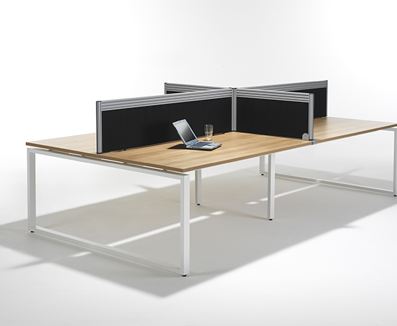 Desk Mounted Office Screens - RP Screen3