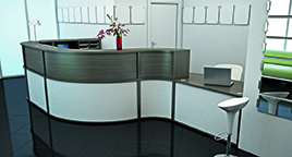 Bespoke Reception Furniture - RP Bespoke