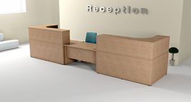 Bespoke Reception Furniture - RP LP 2