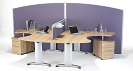 Floor Standing Office Screens - RP Foorscreen3